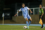 18 October 2013: North Carolina's Jonathan Campbell. The University of North Carolina Tar Heels hosted the Syracuse University Orangemen at Fetzer Field in Chapel Hill, NC in a 2013 NCAA Division I Men's Soccer match. UNC won the game 1-0.