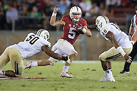 September 12,  2015 -- Stanford, CA:  Stanford Cardinal's home opener vs University of Central Florida Knights at Stanford Stadium.  Stanford won 31-7.