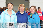 Running at the Killarney Lions Club 10km mini marathon on Sunday was l-r: Marie O'Shea, Bridget Clarke and Eileen O'Connor Killarney