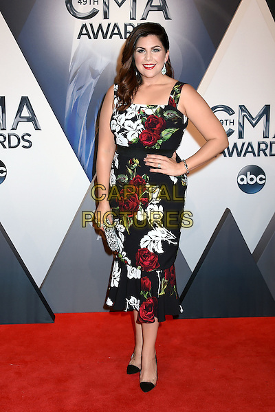 4 November 2015 - Nashville, Tennessee - Hillary Scott, Lady Antebellum. 49th CMA Awards, Country Music's Biggest Night, held at Bridgestone Arena. <br /> CAP/ADM/LF<br /> &copy;LF/ADM/Capital Pictures