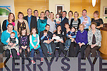 BABY JOY: Proud parents Melissa and Derek Nolan, Caherslee (seated centre) of little Conor who was Christened in St Brendan's Church, Tralee by Fr Padraig Walsh and celebrated afterwards with family and friends in the Ballyroe Heights hotel on Saturday.