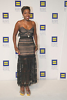 Washington DC,September 10, 2016, USA:  The 20th Annual Human Rights Campaign (HRC) dinner takes place in Washington DC. Speakers and entertainment includes,singer Estelle.  Patsy Lynch/MediaPunch