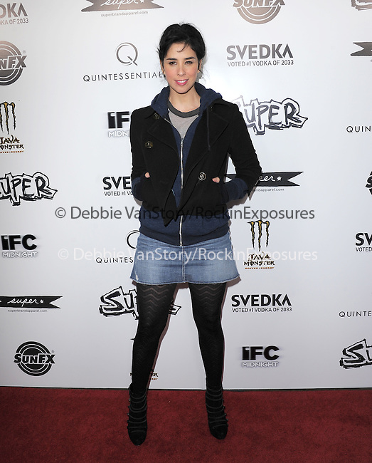 Sarah Silverman at The IFC Midnight L.A. Premiere of SUPER held at The Egyptian Theatre in Hollywood, California on March 21,2011                                                                               © 2010 Hollywood Press Agency