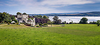 BNPS.co.uk (01202 558833)<br /> Pic: KnightFrank/BNPS<br /> <br /> The home has sweeping views over the mouth of the River Exe...<br /> <br /> A breathtaking waterfront mansion that was once home to Sir Francis Drake has emerged for sale for £5m.<br /> <br /> Belvedere in Exmouth, Devon, is nestled on the banks of the River Exe and was historically part of the Nutwell Estate.<br /> <br /> Nutwell was the Drake family home and passed through the generations before falling into the hands of the explorer in the 16th century.
