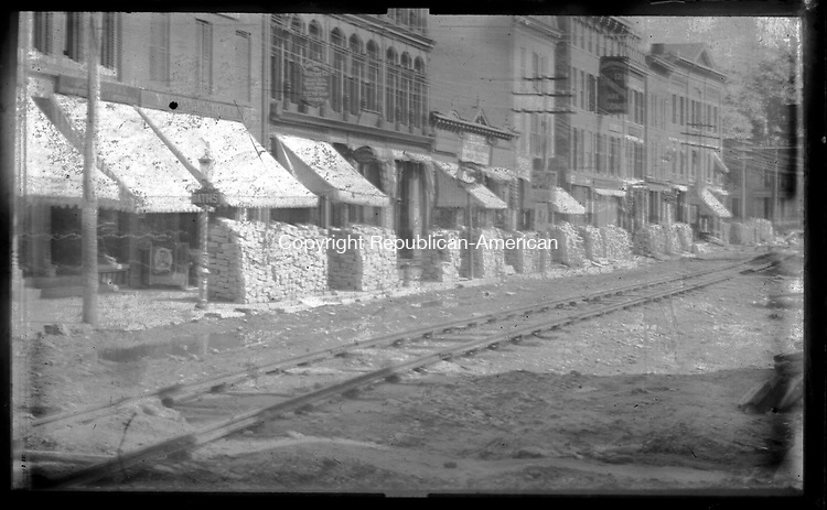 Frederick Stone negative. Bank Street. Undated photo