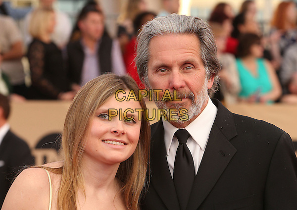29 January 2017 - Los Angeles, California - Gary Cole, Mary Cole. 23rd Annual Screen Actors Guild Awards held at The Shrine Expo Hall. <br /> CAP/ADM/FS<br /> &copy;FS/ADM/Capital Pictures