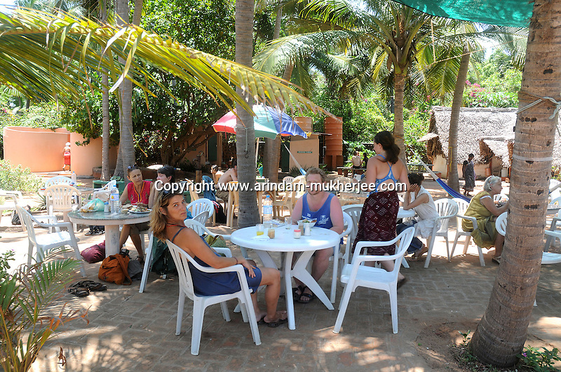 A beach cafe in Aurovil beach in Pondicherry.Arindam Mukherjee/Sipa