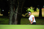 Nick Gillespie. Day one of the Jennian Homes Charles Tour Lawnmaster Classic Manawatu Open at Manawatu Golf Club, Palmerston North, New Zealand on Friday, 18 March 2016. Photo: Dave Lintott / lintottphoto.co.nz