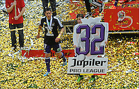 Guillaume Gillet of RSC Anderlecht  .Anderlecht Campione del Belgio .Football Calcio 2012/2013.Jupiter League Belgio .Foto Insidefoto .ITALY ONLY