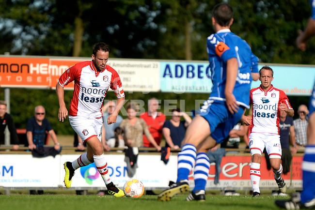 EMMEN - Voetbal, VV Emmen - FC Emmen, voorbereiding seizoen 2018-2019, 07-07-2018,  FC Emmen speler Anco Jansen