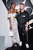 "NEW YORK - JUNE 5: Angelica Ross and Guest attend the party at Center415 following the season 2 premiere of FX's ""Pose"" presented by FX Networks, Fox 21, and FX Productions on June 5, 2019 in New York City. (Photo by Anthony Behar/FX/PictureGroup)"