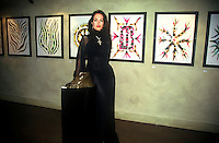 Maria Snyder Art Exhibit NYC<br /> 1993 By Jonathan Green