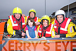 RESCUE: Members of Banna Sea Rescue at the opening of the newly built Banna Boat House and was offiacally opened on Sunday l-r: Mike McCarthy, martin Woulfe, Erica Lawlor, Colleen Trant and Thomas Fitzgerald.