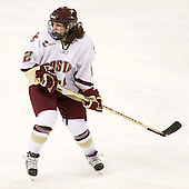 Kristina Brown (BC - 2) - The visiting St. Lawrence University Saints defeated the Boston College Eagles 4-0 on Friday, January 15, 2010, at Conte Forum in Chestnut Hill, Massachusetts.