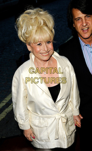 "BARBARA WINDSOR.The ""Is There Anybody There?"" UK premiere, Curzon Mayfair, London, England..April 29th, 2009.half length cream white jacket.CAP/CAN.©Can Nguyen/Capital Pictures."