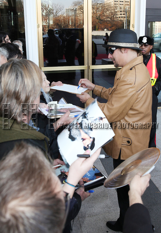Kid Rock & Fans attending the Rehearsals for the 35th Kennedy Center Honors at Kennedy Center in Washington, D.C. on December 2, 2012