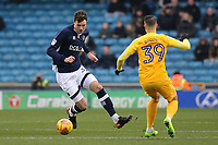 Jake Cooper of Millwall in action during Millwall vs Preston North End, Sky Bet EFL Championship Football at The Den on 13th January 2018