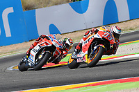 Aragon 24-09-2017 Moto Gp Spain photo Luca Gambuti/Image Sport/Insidefoto <br /> nella foto: Marc Marquez-Jorge Lorenzo