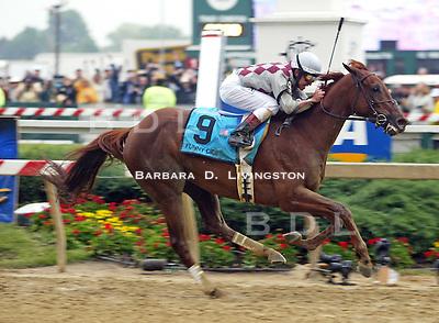 Funny Cide/Jose Santos/Barclay Tagg/Preakness Stakes/Pimlico