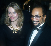 Peggy Lipton Quincy Jones<br /> 1980s<br /> Photo By John Barrett/PHOTOlink