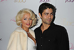 "HOLLYWOOD, CA. - August 10: Paris Hilton and Adrian Grenier arrive at Paris Hilton And Friends Celebrate ""Tease"" Fragrance Launch at My Studio Nightclub on August 10, 2010 in Hollywood, California.  ."