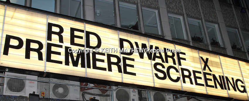 London - V.I.P screening for Red Dwarf X at the Prince Charles Cinema, London - October 3rd 2012...Photo by Keith Mayhew