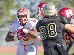 Palos Verdes, CA 10/21/16 - Markeece Alexander (Redondo Union #6) and Jack Alexander (Redondo Union #7) in action during the CIF Southern Section Bay League Redondo Union - Palos Verdes Peninsula game at Peninsula High School.