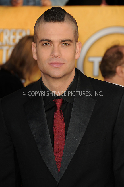 WWW.ACEPIXS.COM . . . . . ....January 30 2011, Los Angeles....Mark Salling arriving at the 17th Annual Screen Actors Guild Awards held at The Shrine Auditorium on January 30, 2011 in Los Angeles, CA....Please byline: PETER WEST - ACEPIXS.COM....Ace Pictures, Inc:  ..(212) 243-8787 or (646) 679 0430..e-mail: picturedesk@acepixs.com..web: http://www.acepixs.com