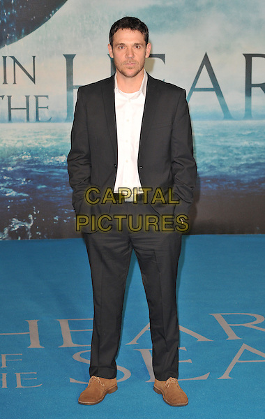 Jamie Sives attends the &quot;In The Heart Of The Sea&quot; European film premiere, Empire cinema, Leicester Square, London, UK, on Wednesday 02 December 2015.<br /> CAP/CAN<br /> &copy;CAN/Capital Pictures