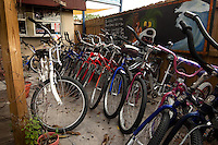 Bicycle rentals along Siesta Key Beach, Sarasota, Florida. Photo by Debi Pittman Wilkey