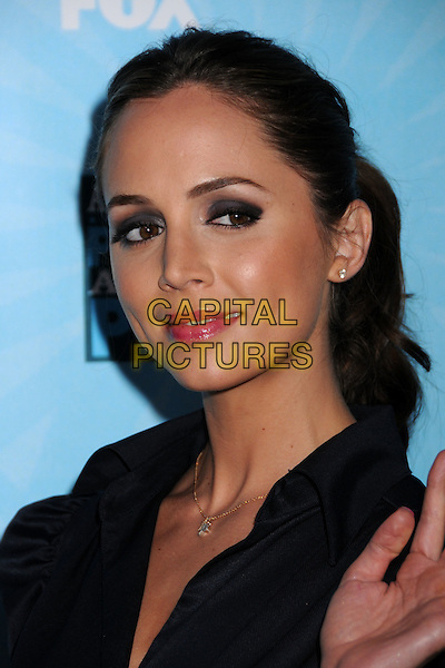 ELIZA DUSHKU.FOX All-Star Party 2008 at the Santa Monica Pier, Santa Monica, California, USA..July 14th, 2008.headshot portrait black smokey eyes .CAP/ADM/BP.©Byron Purvis/AdMedia/Capital Pictures.