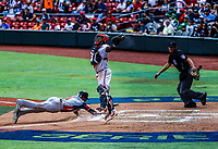 Abiatal Avelino de las &Aacute;guilas Cibae&ntilde;as de Republica Dominicana <br /> ..<br /> <br /> Aspectos del segundo d&iacute;a de actividades de la Serie del Caribe con el partido de beisbol  &Aacute;guilas Cibae&ntilde;as de Republica Dominicana contra Caribes de Anzo&aacute;tegui de Venezuela en estadio Panamericano en Guadalajara, M&eacute;xico,  s&aacute;bado 3 feb 2018. (Foto  / Luis Gutierrez)