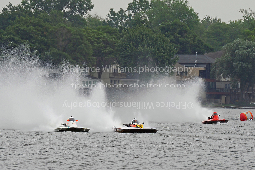 "(L to R): Brandon Kennedy, A-7 ""Magic"", Buster Graham, A-66 ""Mr. Bud III"" and Tony Black,  A-3 ""Sho-Nuff"" (2.5 MOD class hydroplane(s)"