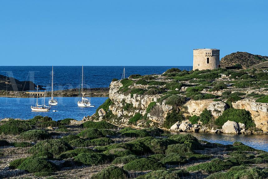 Fortaleza de la Mola, La Mola fortress, Maó, Mahon, Minorca, Balearic Islands, Spain.