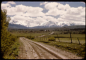 Mt Sneffels Range from side road near Valley View below Deti.<br /> RGS  Valley View, CO  Taken by Maxwell, John W. - 7/13/1946
