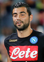 Raul Albiol  during the friendly soccer match,between SSC Napoli and Onc Nice      at  the San  Paolo   stadium in Naples  Italy , August 01, 2016<br />  during the friendly soccer match,between SSC Napoli and Onc Nice      at  the San  Paolo   stadium in Naples  Italy , August 02, 2016