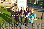 FOSTERING: The ladies from the Fostering Dept HSE,Kerry, looking for volunteers on Wedfnesday morning outside the HSE Community Centre, Rathass, Tralee. they were: l-r: Theresa O'Donoghue,Anne-Marie Tagney,Emer McAuliffe,Kathleen O'Sullivan and Leonie Colligan...