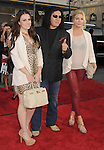 HOLLYWOOD, CA - JUNE 21: Sophie Simmons, Gene Simmons and Shannon Tweed attend the 'Ted' World Premiere held at Grauman's Chinese Theatre on June 21, 2012 in Hollywood, California.