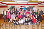 SURPRISE PARTY: Denis McEnery, Daugh (seated centre) got a big surprise when family and friends gathered to celebrate his birthday with family and friends at River Island hotel, Castleisland on Saturday.