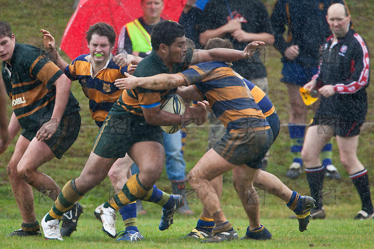 Counties Manukau Massey Cup Under 21 Club Rugby final between Pukekohe and Patumahoe, held at Bayer Growers Stadium, on Saturday July 17th. Patumahoe  won 11 - 5.