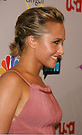 Actress Hayden Panettiere arrives at the NBC Universal 2008 Press Tour All-Star Party at The Beverly Hilton Hotel on July 20, 2008 in Beverly Hills, California.