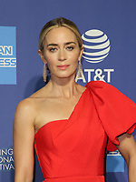 3 January 2019 - Palm Springs, California - Emily Blunt. 30th Annual Palm Springs International Film Festival Film Awards Gala held at Palm Springs Convention Center. Photo Credit: Faye Sadou/AdMedia