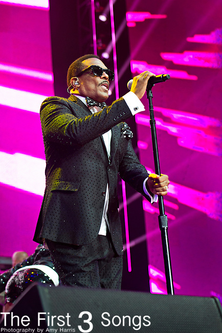 Charlie Wilson performs at the 2013 Essence Festival at the Mercedes-Benz Superdome in New Orleans, Louisiana.