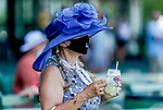 July 18, 2020: Scenes from Haskell Invitational Day at Monmouth Park Racecourse in Oceanport, New Jersey. Scott Serio/Eclipse Sportswire/CSM