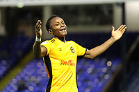 Shawn McClousky of Newport County celebrates getting the first goal of the game during Southend United vs Newport County, Caraboa Cup Football at Roots Hall on 8th August 2017