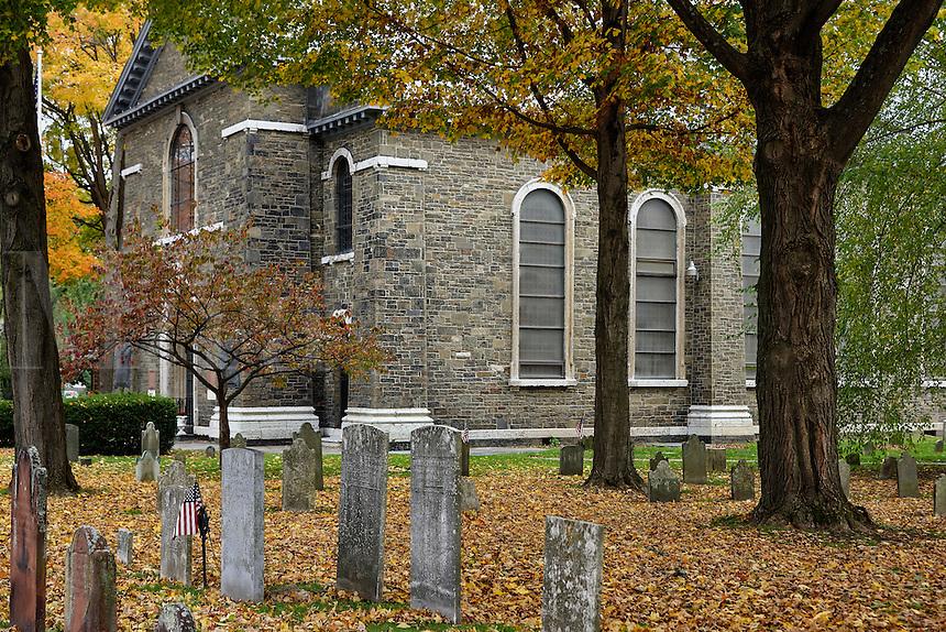 Old Dutch Church, Kingston, New York, USA
