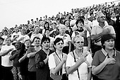 Bolivar, Tennessee<br /> September 11, 2002<br /> <br /> Hundreds gathered at the high school football field to pray and honor the victims of 9/11 terrorist attacks one year before.