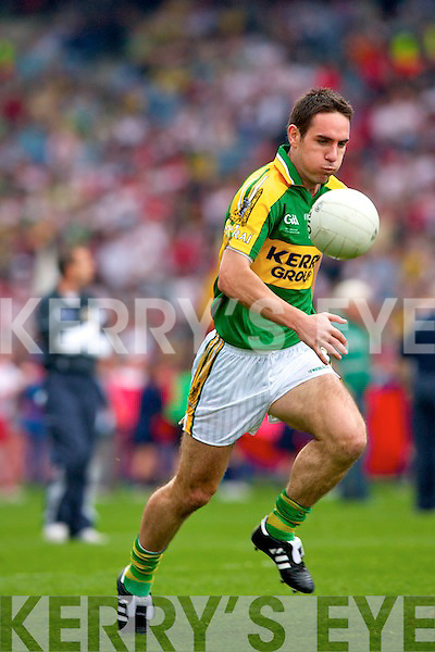 Declan O'Sullivan, Kerry v Tyrone All ireland Final 2008 at Croke Park Dublin 21st September 2008.