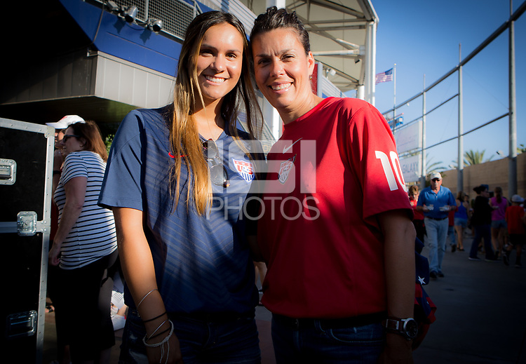 Carson, CA - Thursday August 03, 2017: The USWNT vs Japan Fan HQ in the Tournament of Nations at StubHub Center.