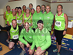 Members of Duleek AC who took part in the Seamie Weldon memorial run at St. Mary's GAA club Ardee. Photo:Colin Bell/pressphotos.ie